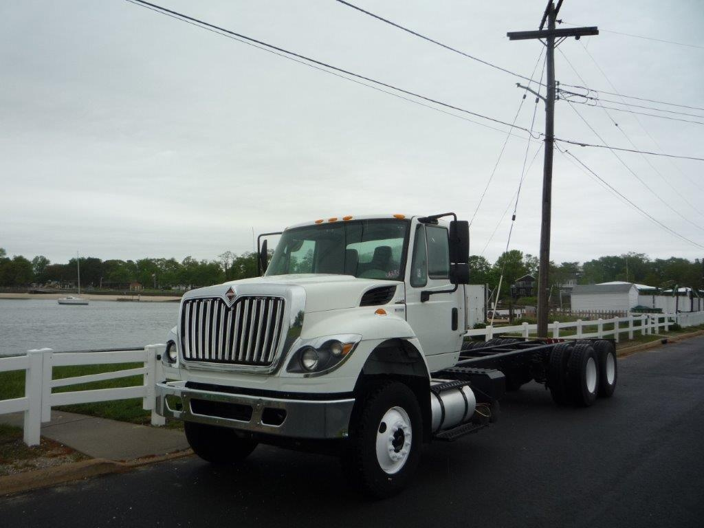 USED 2011 INTERNATIONAL 7500 6 X 4 CAB CHASSIS TRUCK #11367