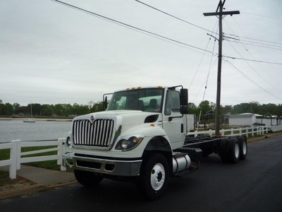 USED 2011 INTERNATIONAL 7500 6 X 4 CAB CHASSIS TRUCK #11367-1