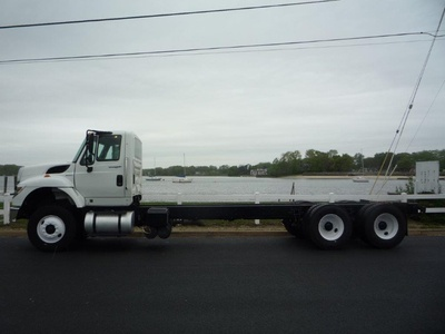 USED 2011 INTERNATIONAL 7500 6 X 4 CAB CHASSIS TRUCK #11367-4
