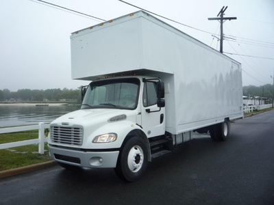 USED 2016 FREIGHTLINER M2 28 FT. MOVING TRUCK #11450-1