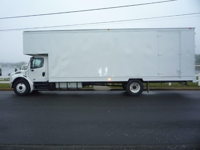 USED 2016 FREIGHTLINER M2 28 FT. MOVING TRUCK #11450-4