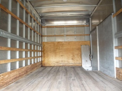 USED 2010 ISUZU NPR HD BOX VAN TRUCK #11463-10