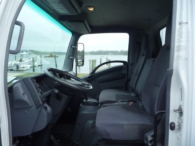 USED 2010 ISUZU NPR HD BOX VAN TRUCK #11463-2