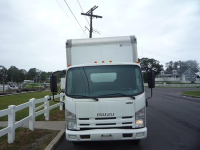 USED 2010 ISUZU NPR HD BOX VAN TRUCK #11463-3