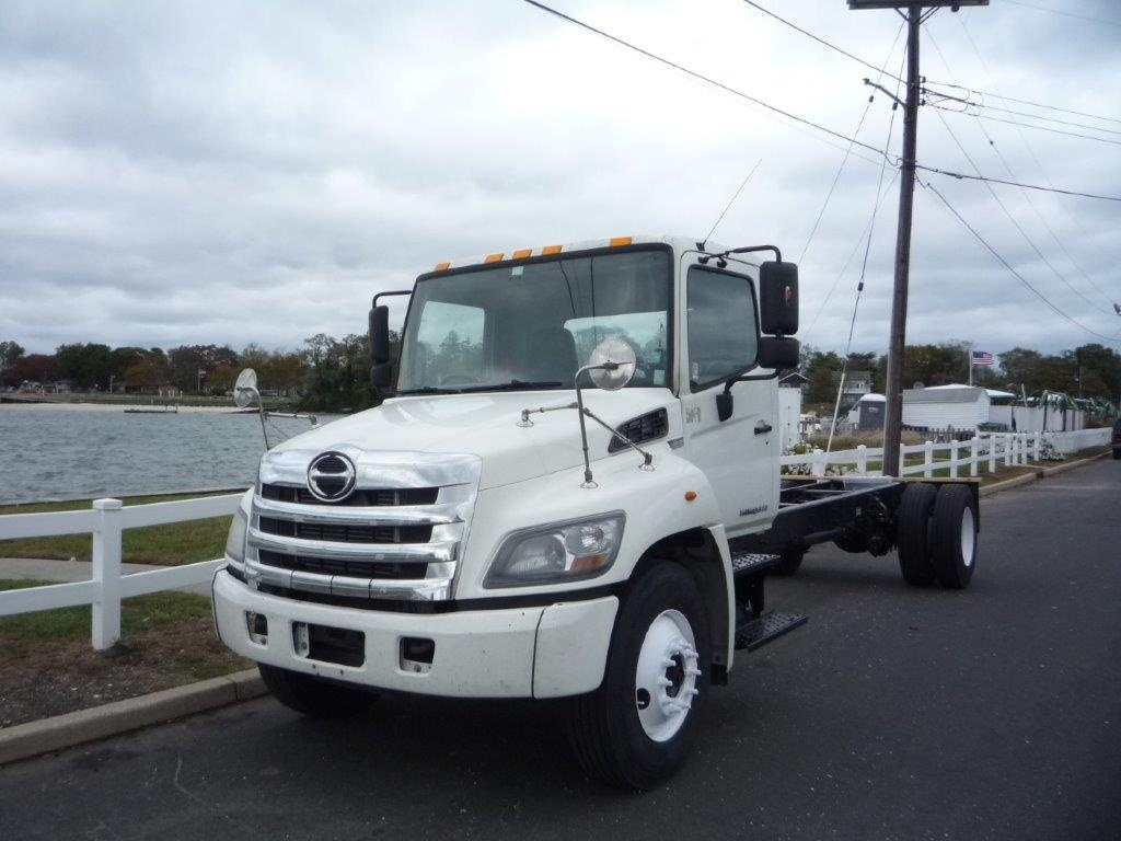 USED 2012 HINO 338 CAB CHASSIS TRUCK #11485