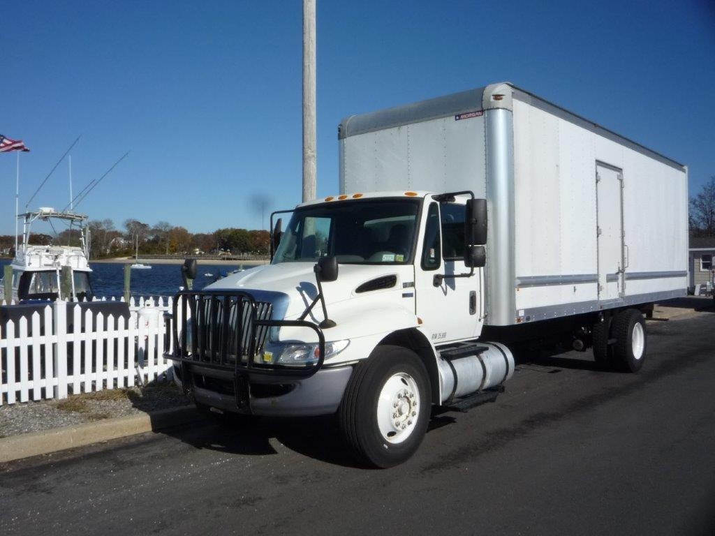 USED 2013 INTERNATIONAL 4300 BOX VAN TRUCK #11493