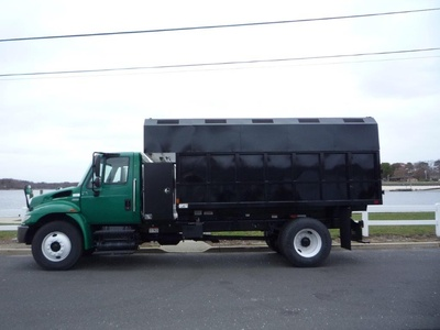 USED 2012 INTERNATIONAL 4300 CHIPPER DUMP TRUCK #11497-4