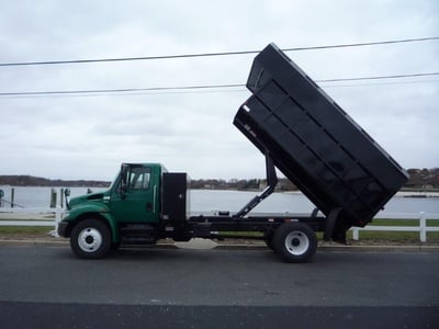 USED 2012 INTERNATIONAL 4300 CHIPPER DUMP TRUCK #11497-6