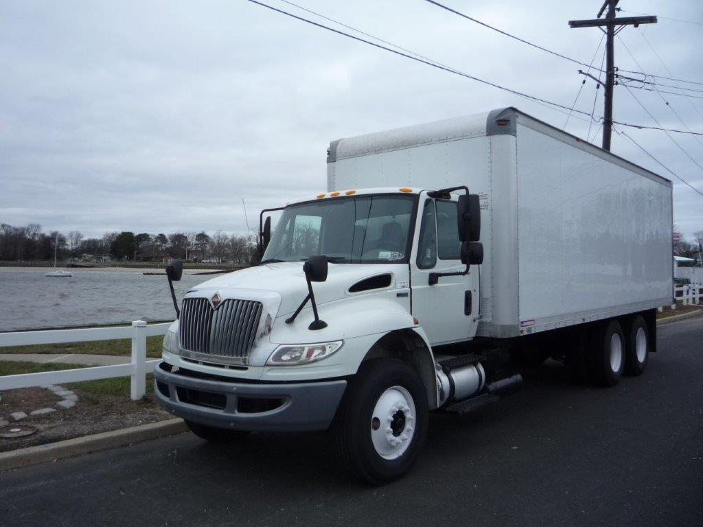 USED 2012 INTERNATIONAL 4400 6X4 BOX VAN TRUCK #11504