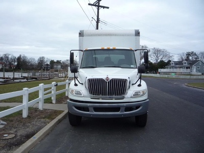 USED 2012 INTERNATIONAL 4400 6X4 BOX VAN TRUCK #11504-3