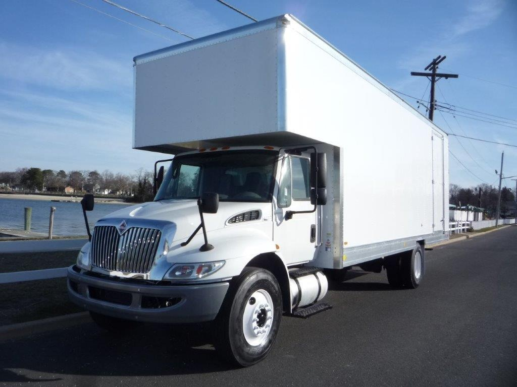 USED 2013 INTERNATIONAL 4300 MOVING TRUCK #11554