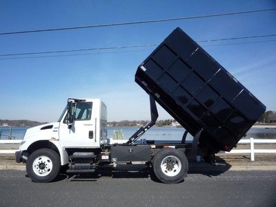 USED 2012 INTERNATIONAL 4300 CHIPPER DUMP TRUCK #11574-6