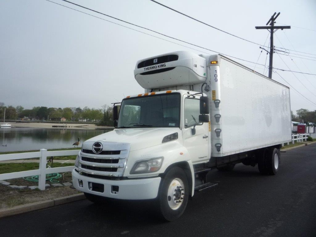 USED 2012 HINO 338 REEFER TRUCK #11614