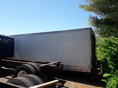 USED 2012 26 FT. MORGAN REEFER BODY TRUCK BODY #11641-4