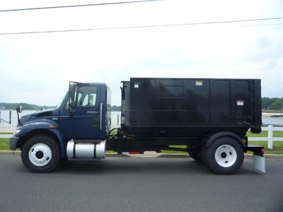 USED 2013 INTERNATIONAL 4300 HOOKLIFT TRUCK #11658-4