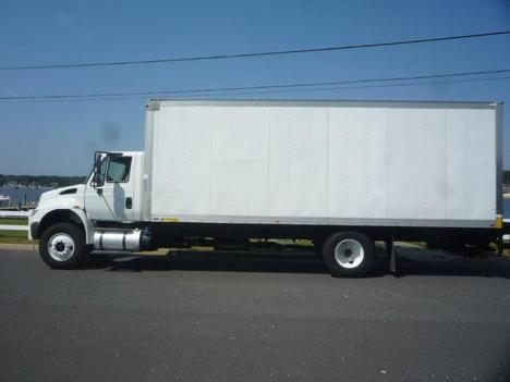 USED 2015 INTERNATIONAL 4300 BOX VAN TRUCK #11693-4