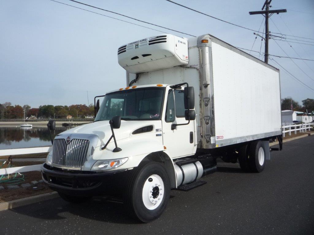 USED 2015 INTERNATIONAL 4300 REEFER TRUCK #11717
