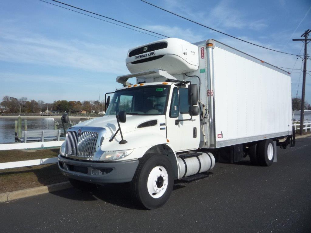 USED 2013 INTERNATIONAL 4300 REEFER TRUCK #11721