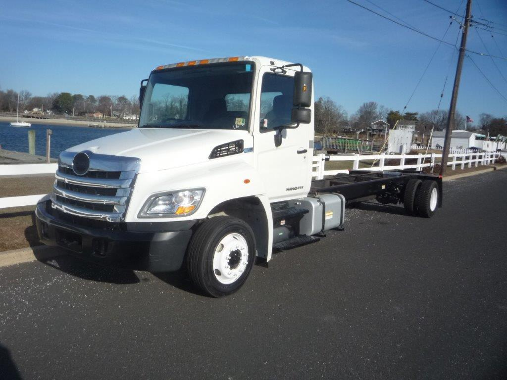 USED 2011 HINO 258LP CAB CHASSIS TRUCK #11760