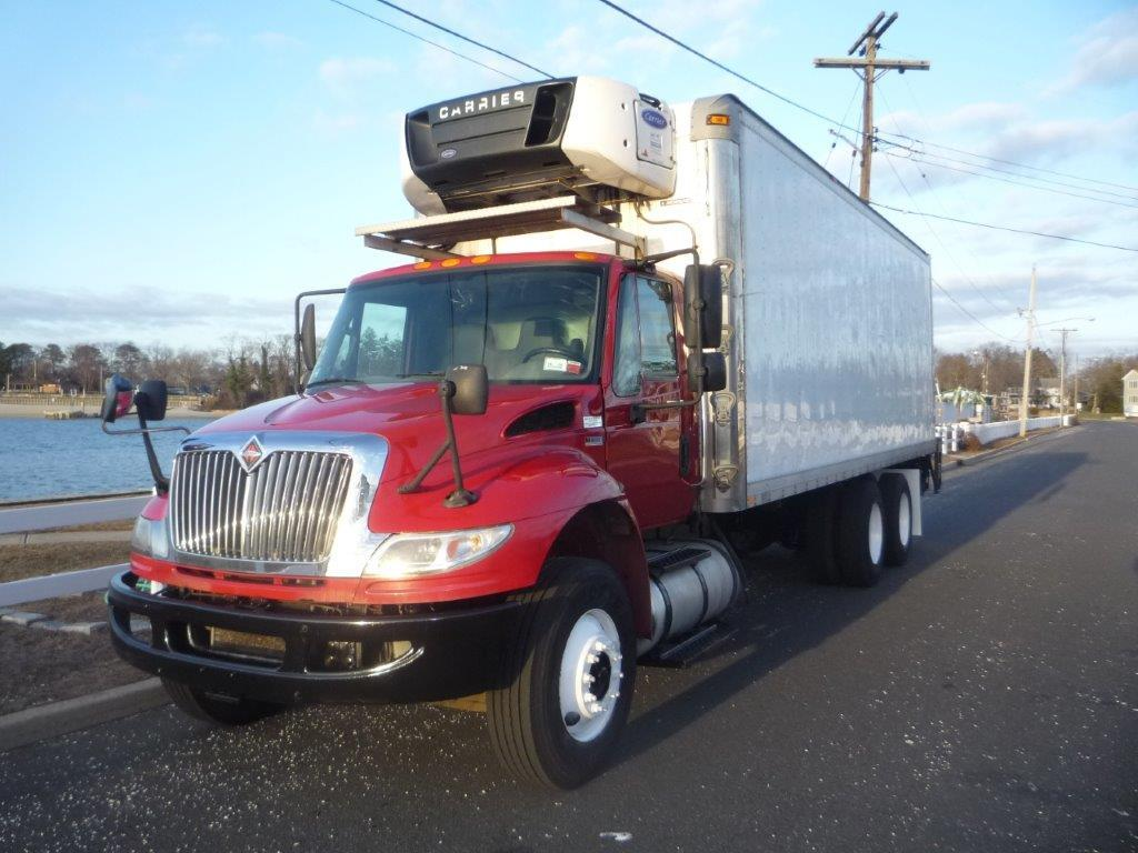 USED 2014 INTERNATIONAL 4400 6X4 REEFER TRUCK #11771