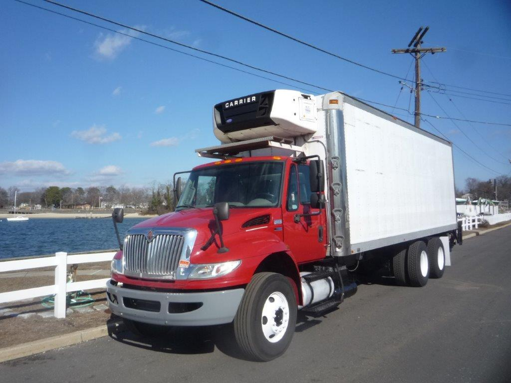 USED 2012 INTERNATIONAL 4400 6X4 REEFER TRUCK #11779