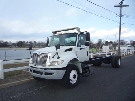USED 2014 INTERNATIONAL 4300 CAB CHASSIS TRUCK #11791-1