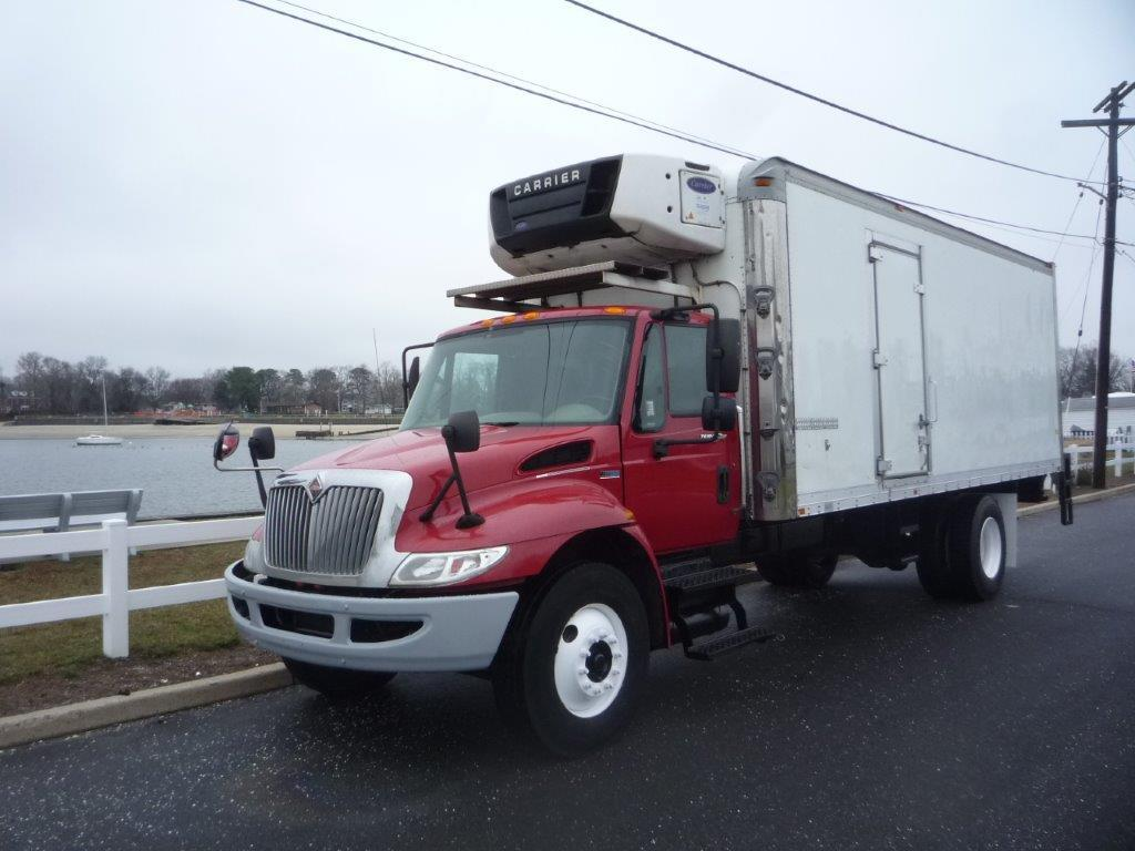 USED 2014 INTERNATIONAL 4300 REEFER TRUCK #11799