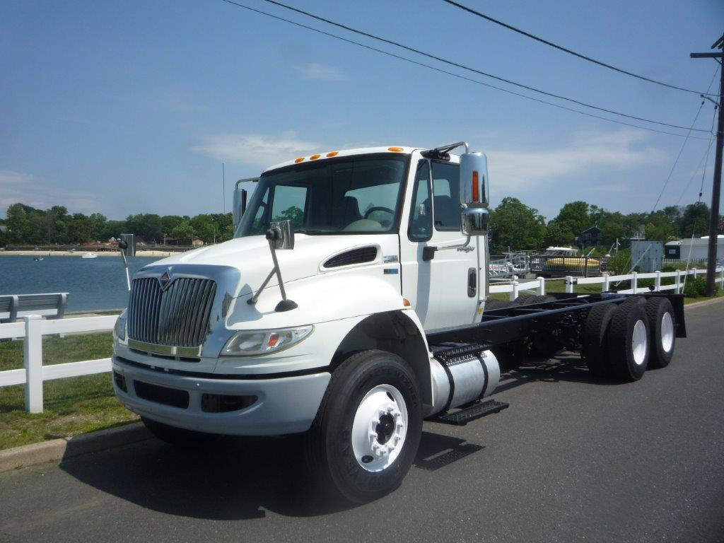 USED 2012 INTERNATIONAL 4400 6X4 CAB CHASSIS TRUCK #11841