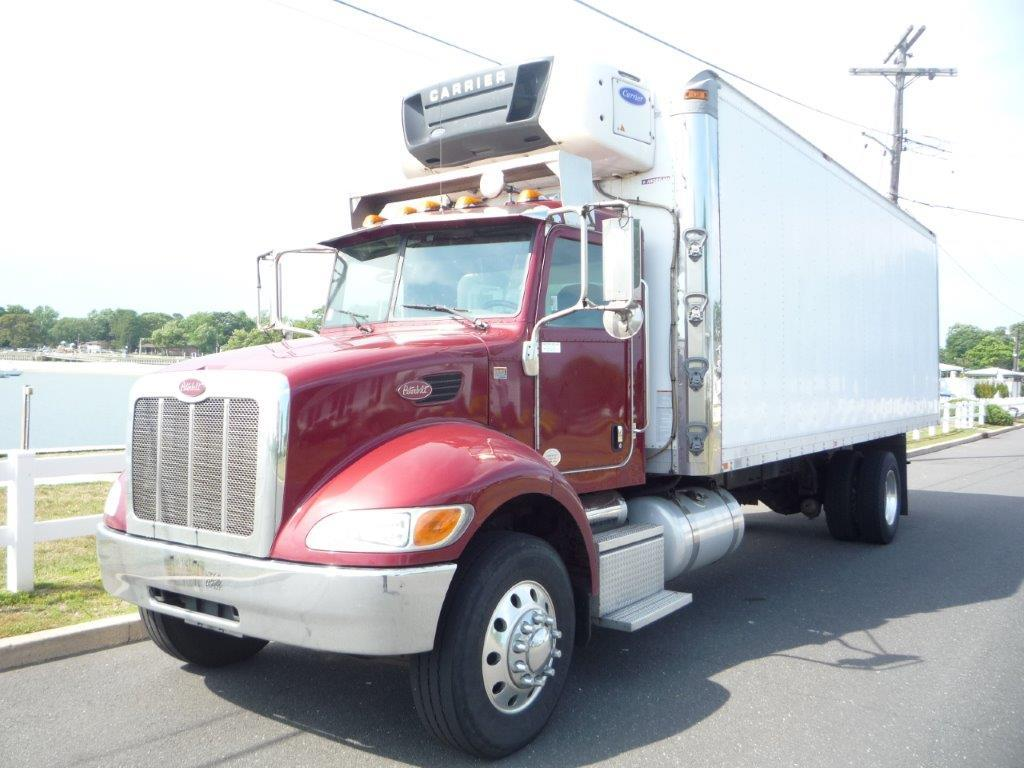 USED 2014 PETERBILT 337 REEFER TRUCK #11848