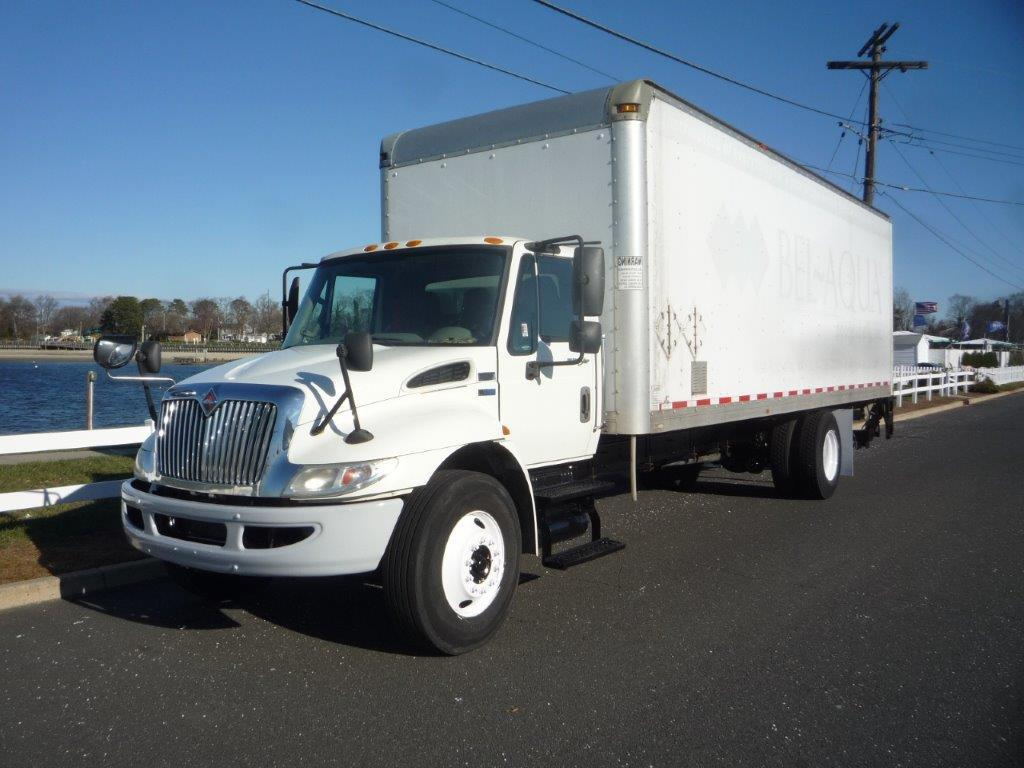 USED 2013 INTERNATIONAL 4300 BOX VAN TRUCK #11940