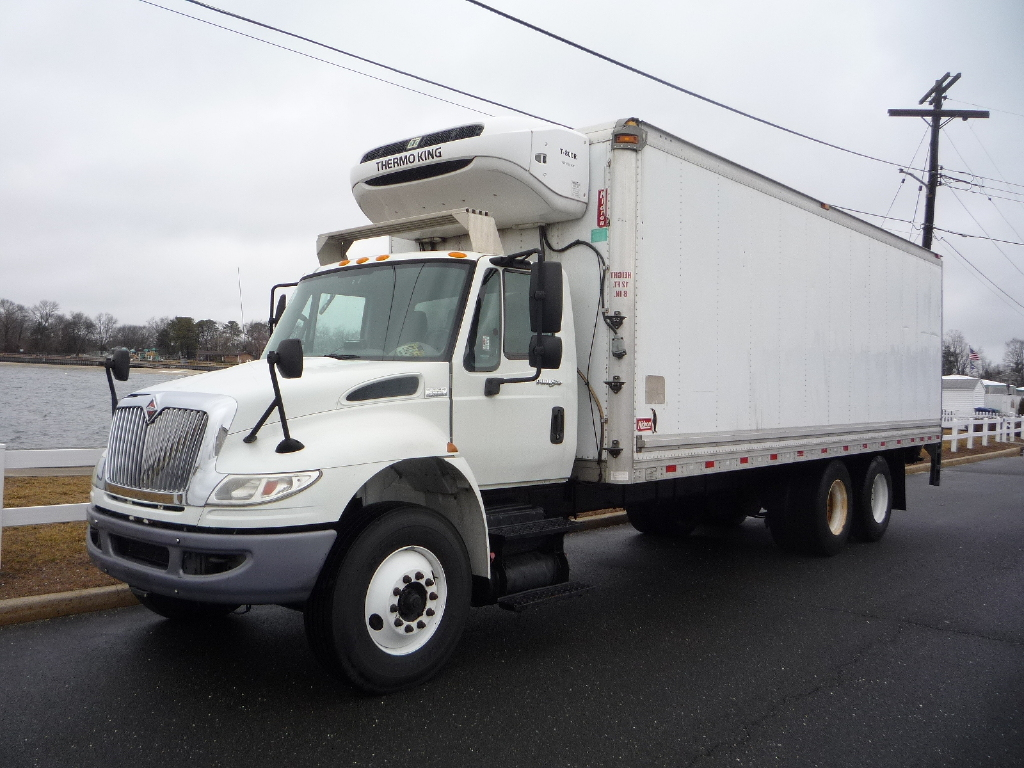 USED 2013 INTERNATIONAL 4300 REEFER TRUCK #11985