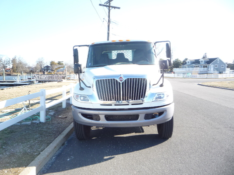 USED 2014 INTERNATIONAL 4400 6 X 4 FLATBED TRUCK #12003-3