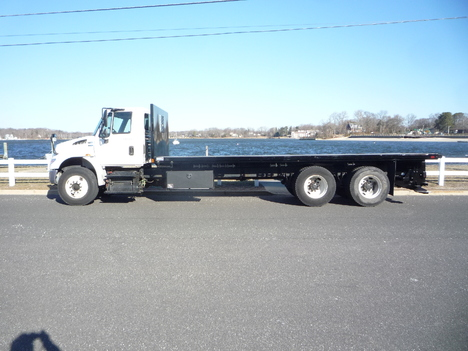 USED 2014 INTERNATIONAL 4400 6 X 4 FLATBED TRUCK #12003-4