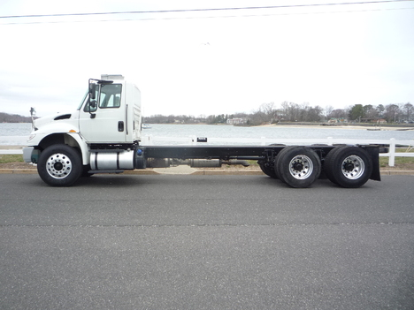 USED 2016 INTERNATIONAL 4400 6 X 4 CAB CHASSIS TRUCK #12012-4