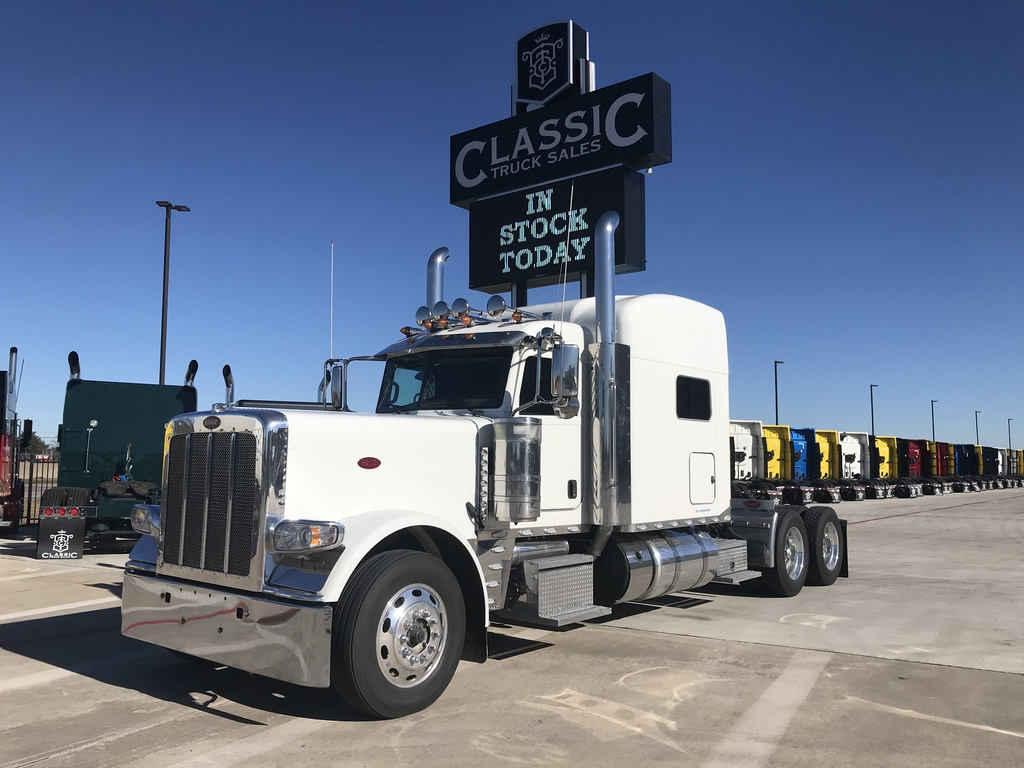 USED 2019 PETERBILT 389 TANDEM AXLE SLEEPER TRUCK #3184