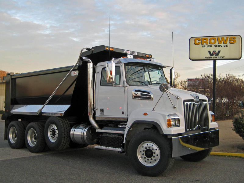 NEW 2015 WESTERN STAR 4700SF TRI-AXLE STEEL DUMP TRUCK #1023