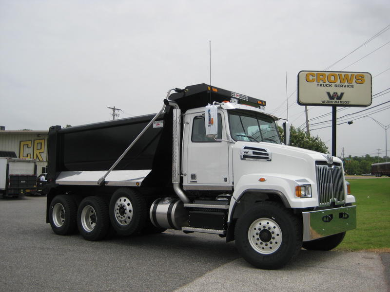 NEW 2015 WESTERN STAR 4700SF TRI-AXLE STEEL DUMP TRUCK #1024