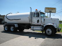USED 2007 WESTERN STAR 4900FA WATER TRUCK #1026-1