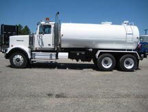 USED 2007 WESTERN STAR 4900FA WATER TRUCK #1026-2