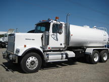 USED 2007 WESTERN STAR 4900FA WATER TRUCK #1026-4