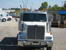 USED 2007 WESTERN STAR 4900FA WATER TRUCK #1026-7