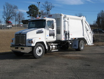 NEW 2016 WESTERN STAR 4700SF GARBAGE TRUCK #1053-2