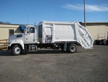 NEW 2016 WESTERN STAR 4700SF GARBAGE TRUCK #1053-3