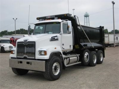 NEW 2018 WESTERN STAR 4700SF DUMP TRUCK #1065-4