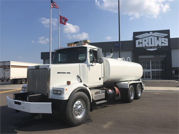 USED 2000 WESTERN STAR 4864FX WATER TRUCK #1160