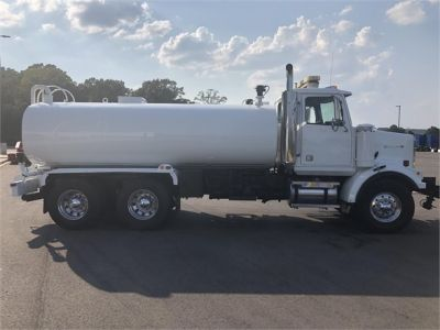 USED 2000 WESTERN STAR 4864FX WATER TRUCK #1160-5