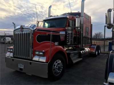 USED 2018 KENWORTH W900L SLEEPER TRUCK #1315-10