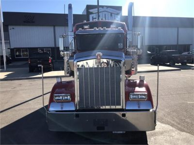 USED 2018 KENWORTH W900L SLEEPER TRUCK #1315-11