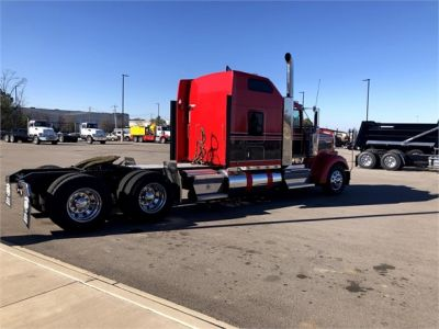 USED 2018 KENWORTH W900L SLEEPER TRUCK #1315-16