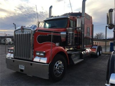 USED 2018 KENWORTH W900L SLEEPER TRUCK #1315-9